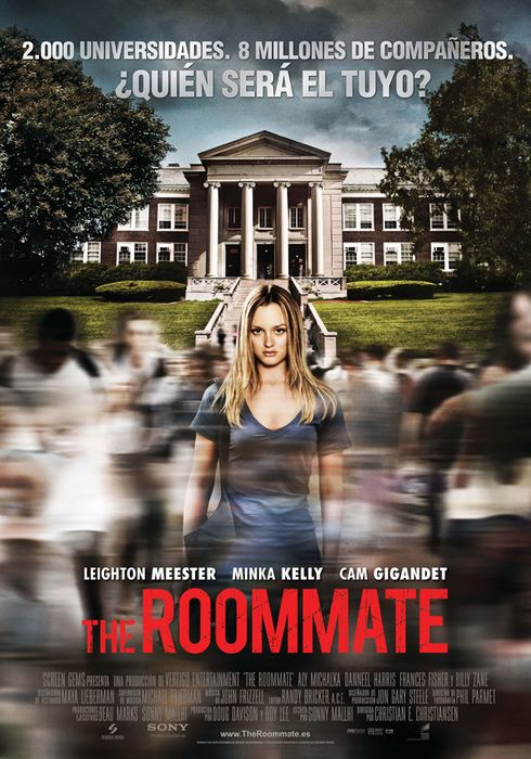 Cartel oficial en español de: The Roommate