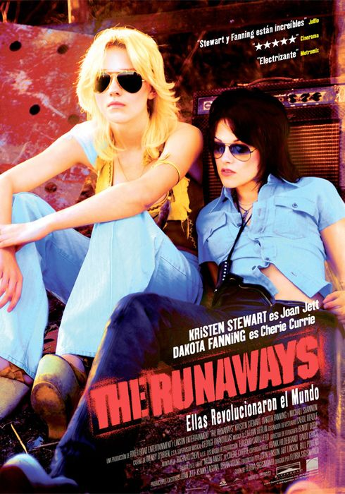 Cartel oficial en español de: The Runaways