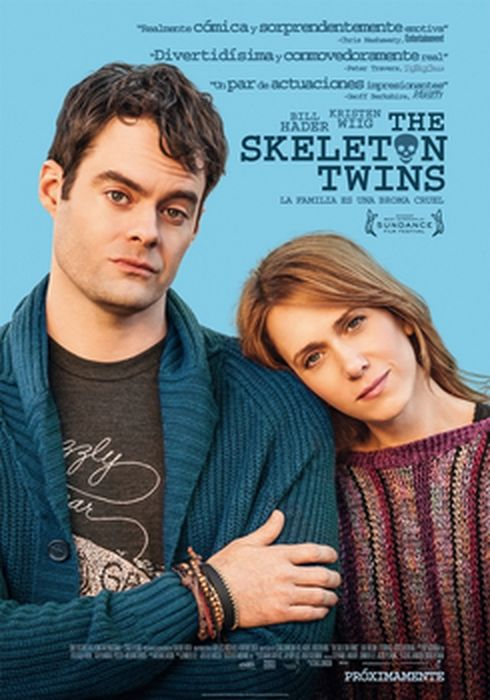 Cartel oficial en español de: The Skeleton Twins