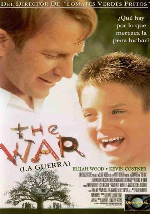 Cartel oficial en español de: The War (La guerra)
