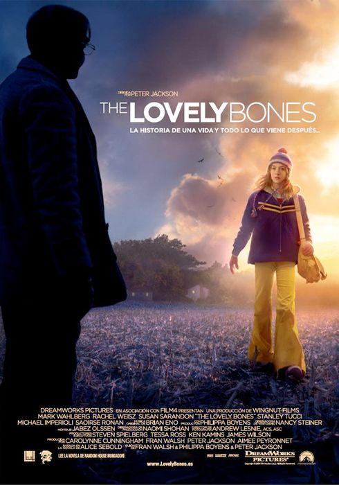 Cartel oficial en español de: The Lovely Bones