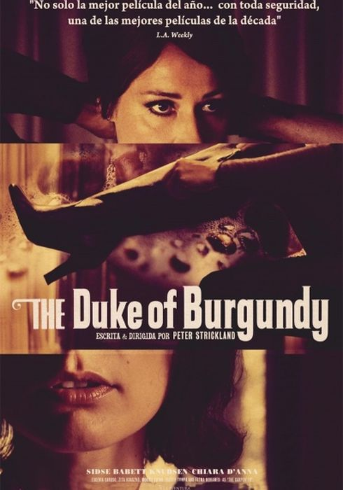 Cartel oficial en español de: The Duke of Burgundy