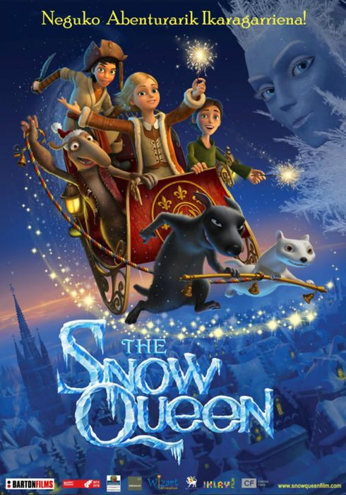 Cartel oficial en español de: The Snow Queen