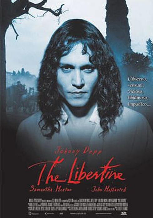 Cartel oficial en español de: The libertine