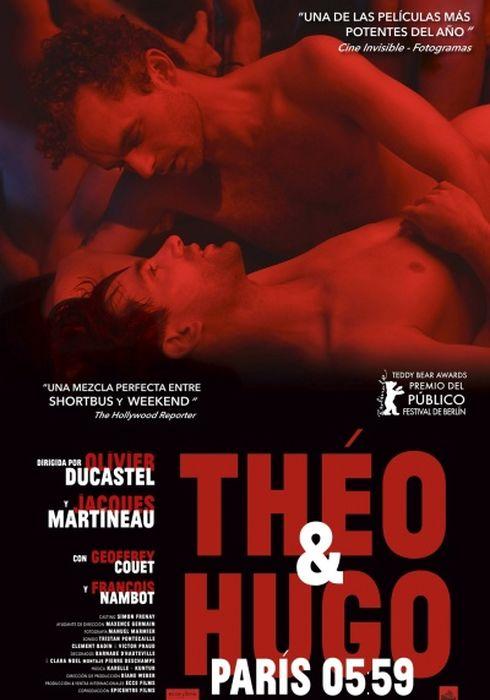 Cartel oficial en español de: Theo y Hugo, Paris 5:59