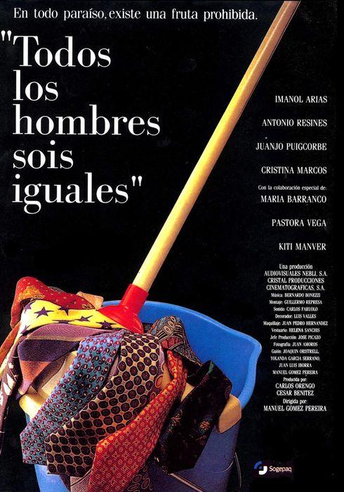 Cartel oficial en español de: Todos los hombres sois iguales