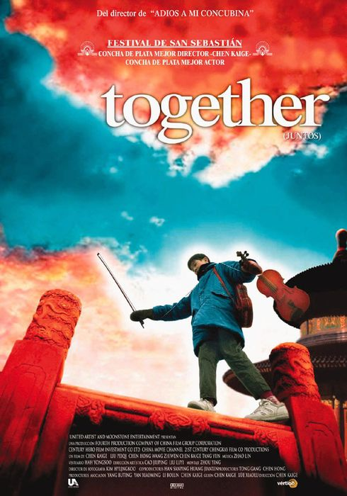 Cartel oficial en español de: Together (Juntos)
