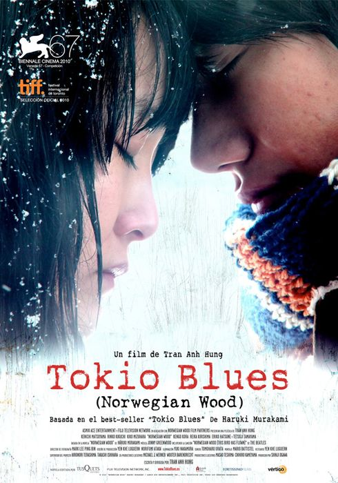 Cartel oficial en español de: Tokio blues (Norwegian Wood)