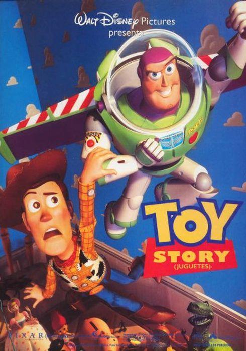 Cartel oficial en español de: Toy Story (Juguetes)