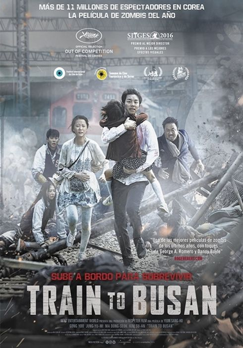 Cartel oficial en español de: Train to Busan