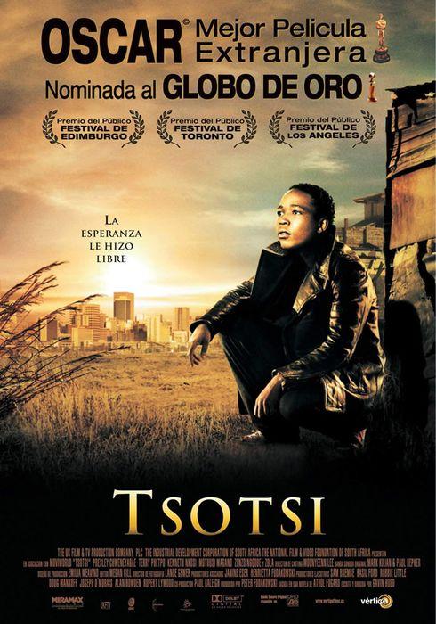 Cartel oficial en español de: Tsotsi