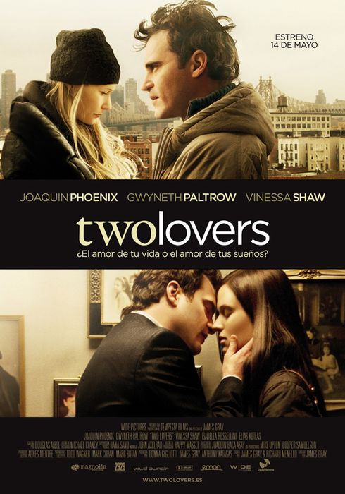 Cartel oficial en español de: Two Lovers