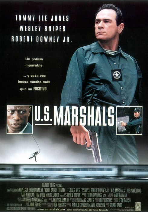 Cartel oficial en español de: U.S. Marshals
