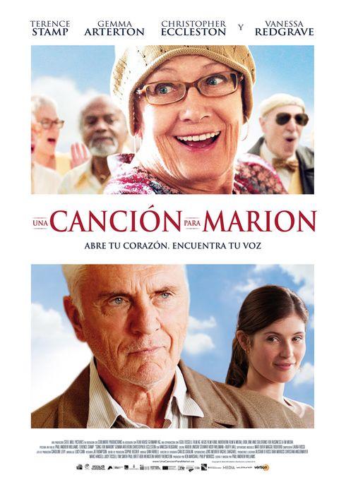 Cartel oficial en español de: Una canción para Marion