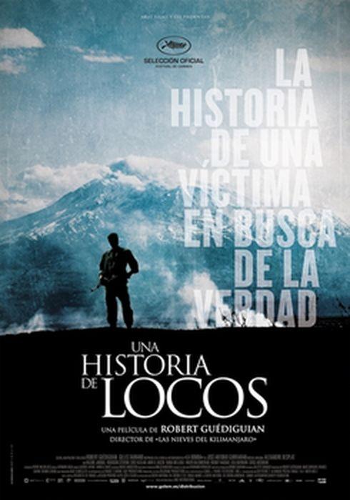 Cartel oficial en español de: Una historia de locos
