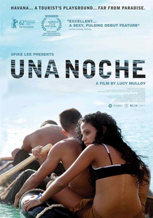 Cartel oficial en español de: Una noche