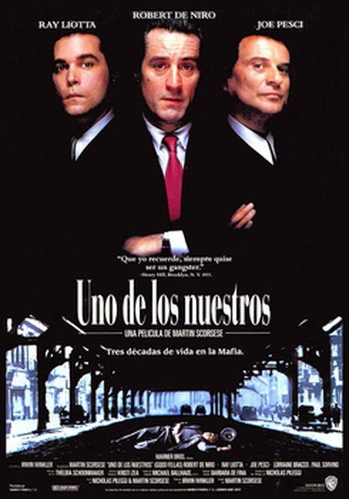 Cartel oficial en español de: Uno de los nuestros