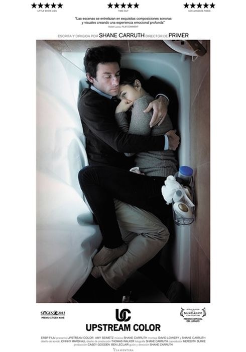 Cartel oficial en español de: Upstream Color