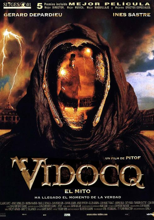 Cartel oficial en español de: Vidocq