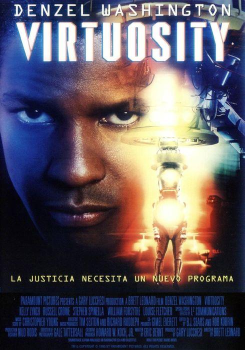 Cartel oficial en español de: Virtuosity