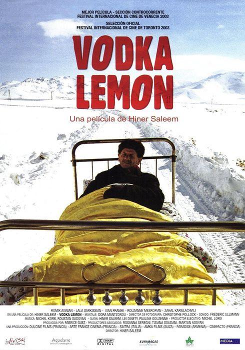 Cartel oficial en español de: Vodka lemon
