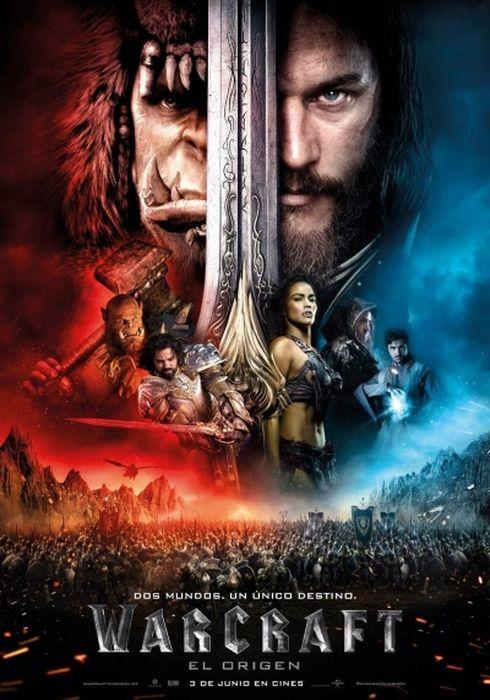 Cartel oficial en español de: Warcraft: El origen