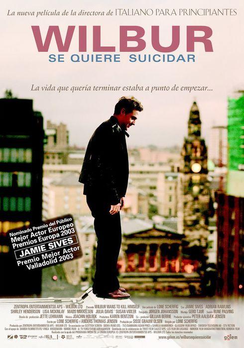 Cartel oficial en español de: Wilbur se quiere suicidar