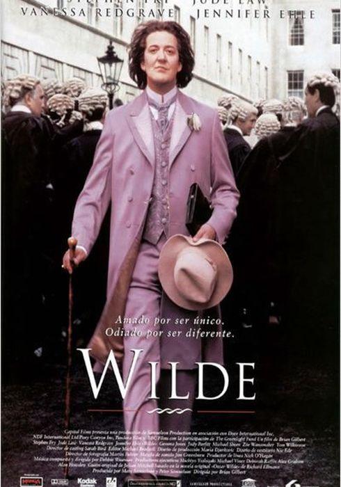 Cartel oficial en español de: Wilde