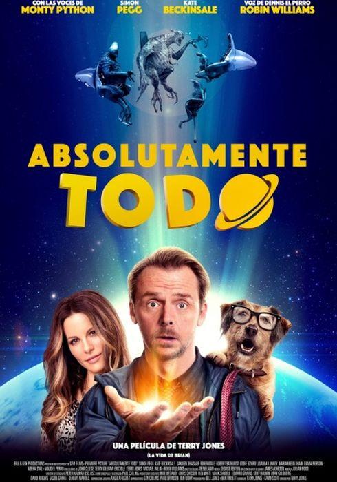 Cartel oficial en español de: Absolutamente todo