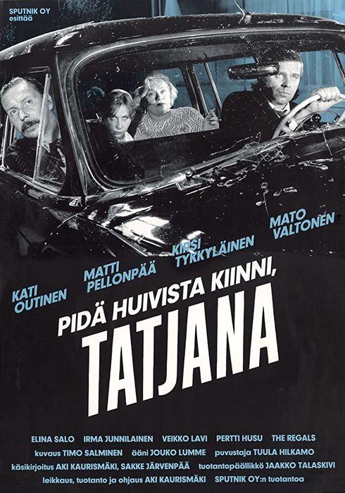 Cartel oficial en español de: Agárrate el pañuelo, Tatiana