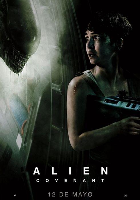 Cartel oficial en español de: Alien: Covenant