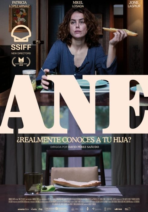 Cartel oficial en español de: Ane