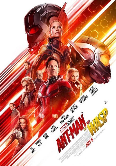 Cartel oficial en español de: Ant-Man y la Avispa