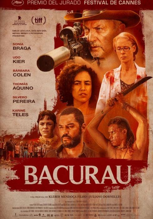 Cartel oficial en español de: Bacurau