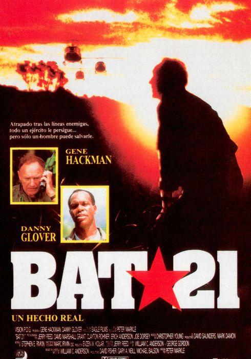 Cartel oficial en español de: Bat 21