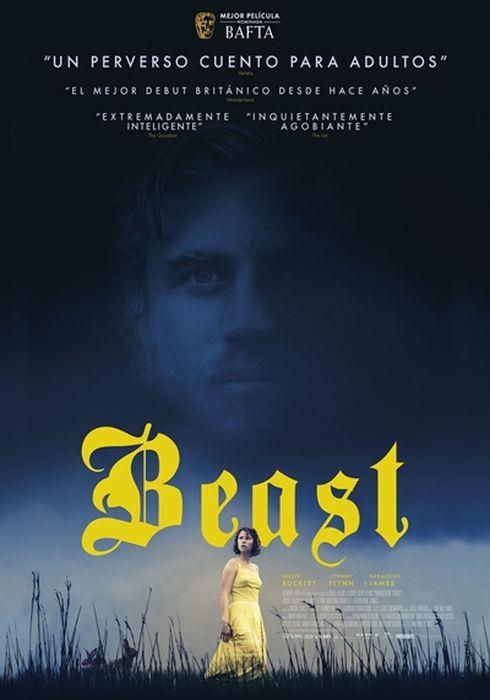 Cartel oficial en español de: Beast