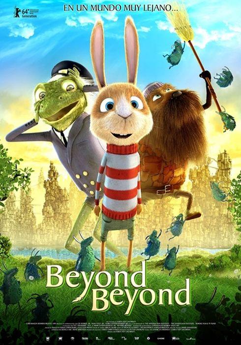 Cartel oficial en español de: Beyond Beyond