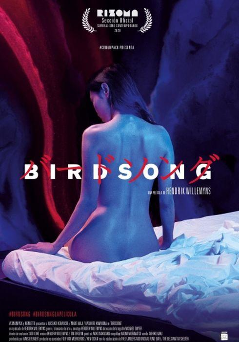Cartel oficial en español de: Birdsong