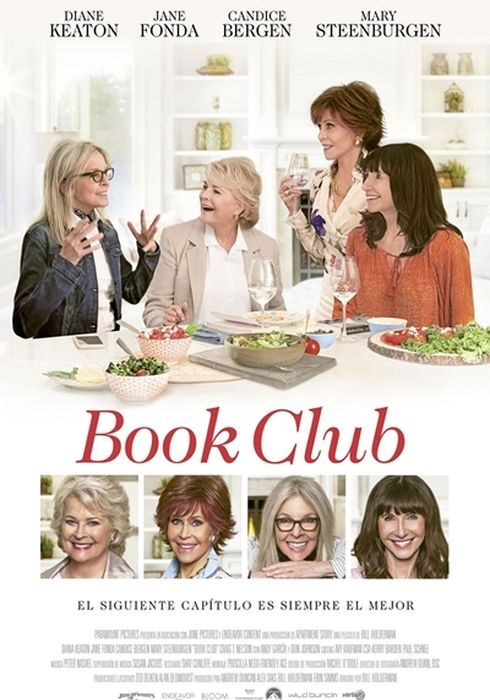Cartel oficial en español de: Book Club