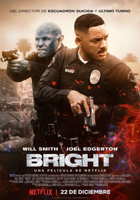 Cartel oficial en español de: Bright