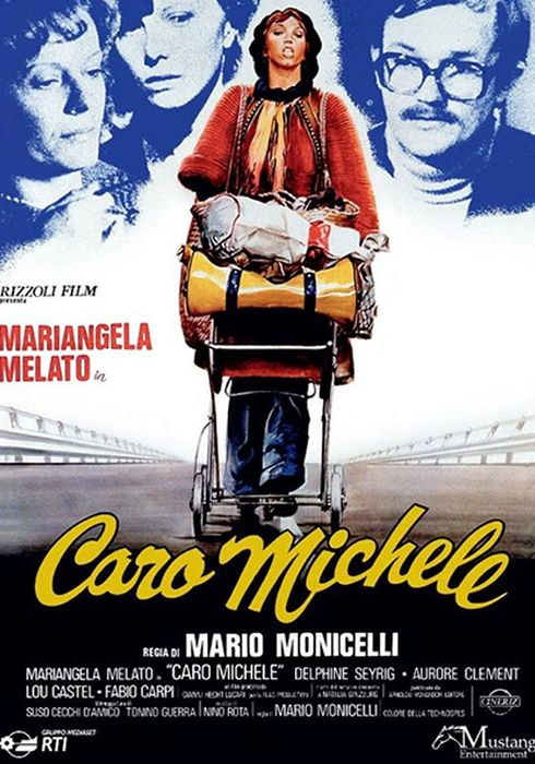 Cartel oficial en español de: Caro Michele