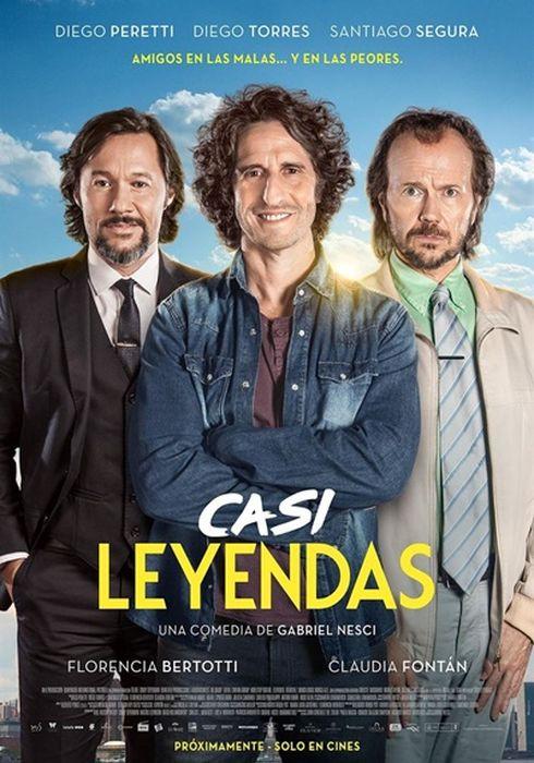 Cartel oficial en español de: Casi leyendas