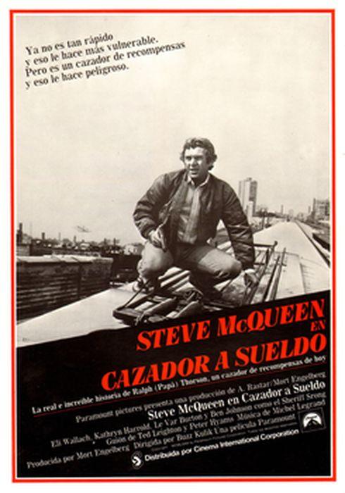 Cartel oficial en español de: Cazador a sueldo