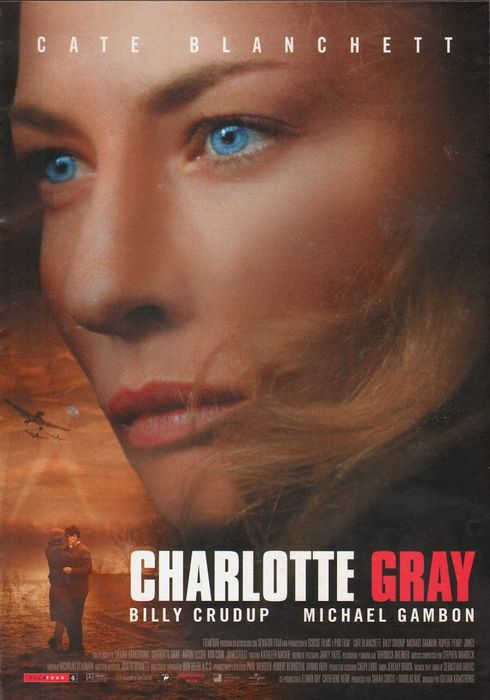 Cartel oficial en español de: Charlotte Gray