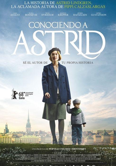 Cartel oficial en español de: Conociendo a Astrid