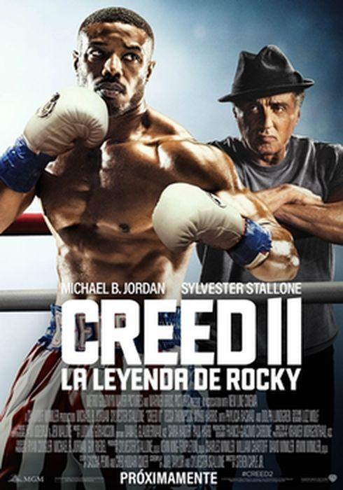 Cartel oficial en español de: Creed II: La leyenda de Rocky