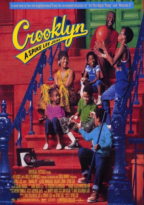 Cartel oficial en español de: Crooklyn