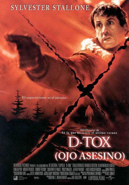 Cartel oficial en español de: D-Tox: Ojo asesino