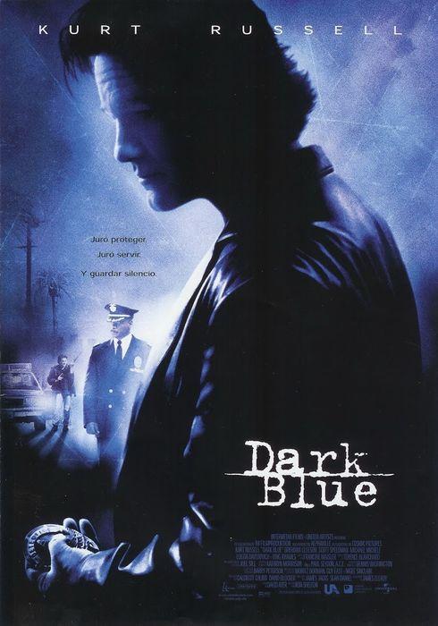 Cartel oficial en español de: Dark Blue