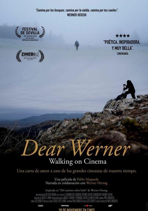 Cartel oficial en español de: Dear Werner (Walking on Cinema)